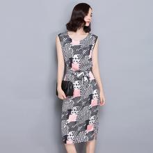 Vestidos Elbise Robe Casual 2016 New Summer Autumn Dress Office Plaid Dress Plus Size Robe Femme Dashiki 2 Piece Set Women