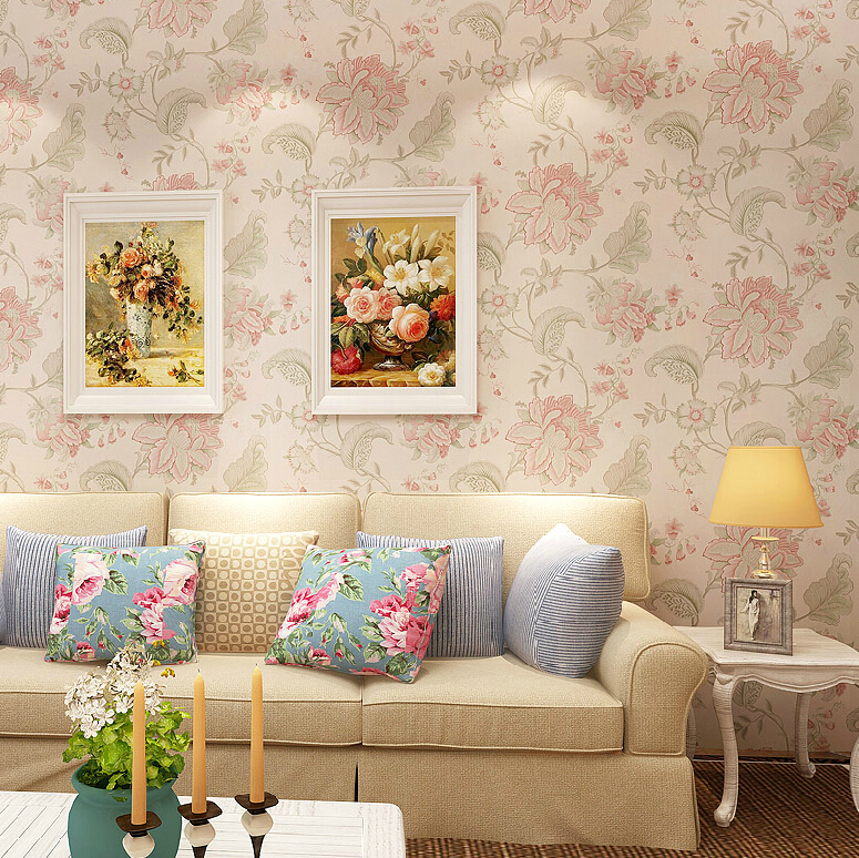 Iemo for Pink living room wallpaper