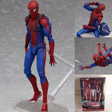 Buy Movie Untitled Spider-Man Reboot league spider man PVC Action Figure toys Spider man model Children gift Brinquedos BOX for $13.44 in AliExpress store
