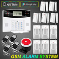 Android IOS App Control Alarm System Security Smart Home Alarm System GSM Alarm System English Russian