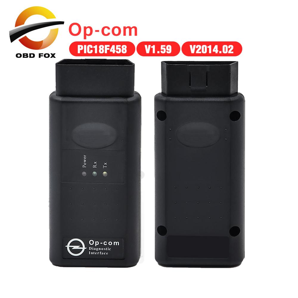 2016 New Arrival opcom OP com v2014.2 auto diagostic tool for Opel op-com V1.59 with PIC chip High Quality free shipping(China (Mainland))