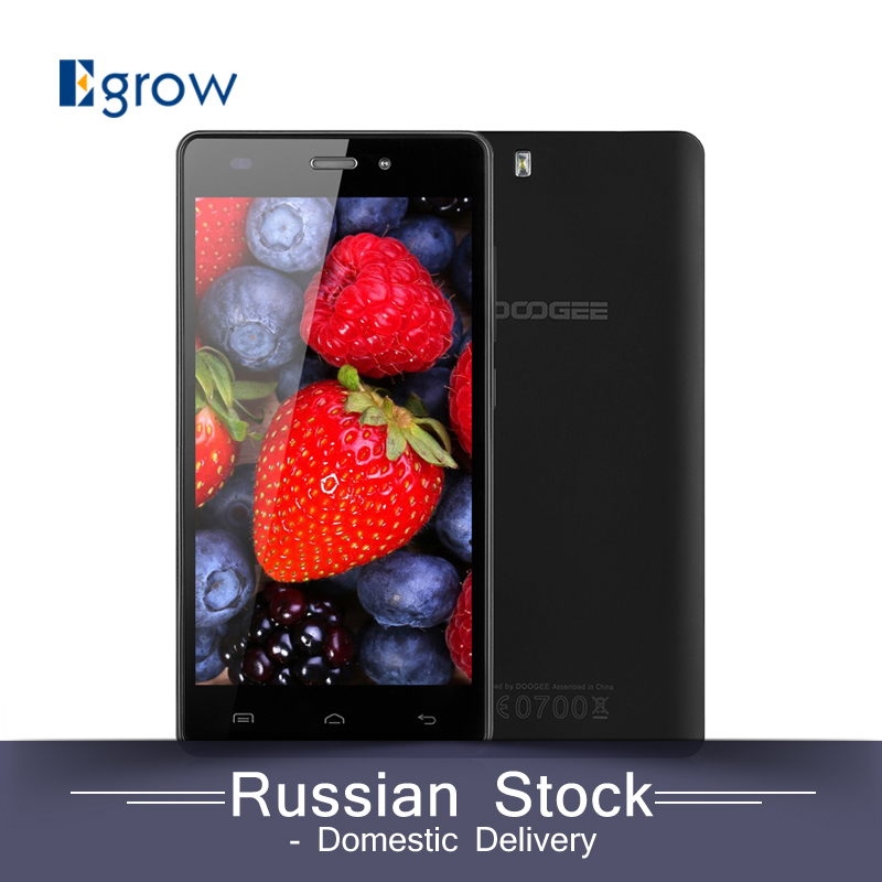 Original DOOGEE X5 5.0 inch Android 5.1 Smartphone MT6580 Quad Core 1.3GHZ Mobile Phone Dual SIM 1G RAM+8G ROM Cellphone(China (Mainland))