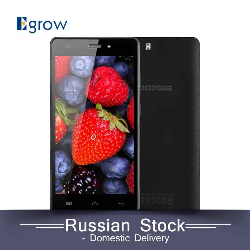 Original DOOGEE X5 5.0 inch Android 5.1 Smartphone MT6580 Quad Core 1.3GHZ Mobile Phone Dual SIM 1G RAM+8G ROM Cellphone(China (Mainland))