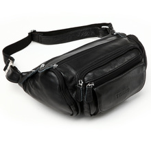 popular leather waist pouch
