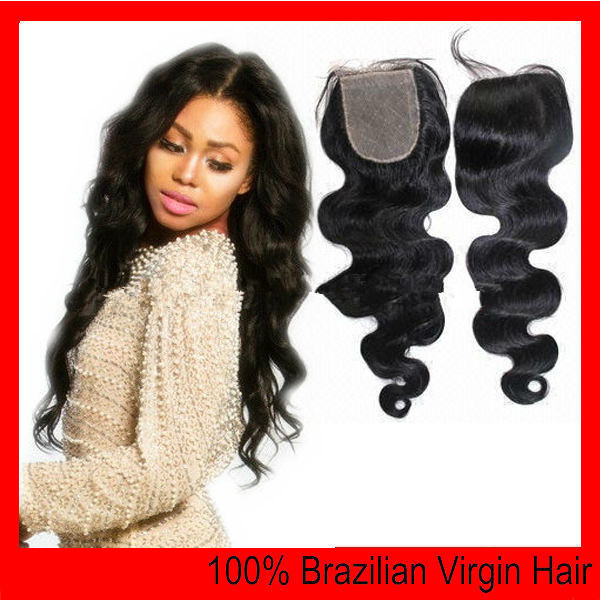 Cheap Virgin Indian Hair Closures 25