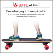 2016 hot sale BENCHWHEEL high quality  adultor cheap hoverboar Wireless remote controlled dual-motor drive electric skateboard