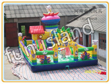 Large amusement park games factory bouncy castles inflatables china prices(China (Mainland))