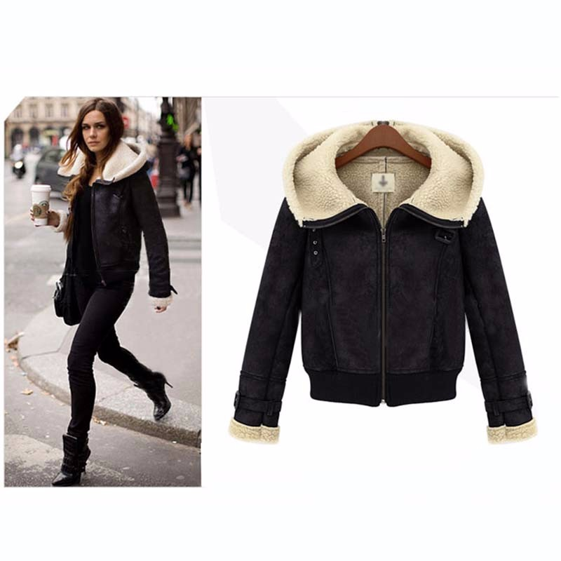 2016 Winter Fashion Women Solid Full Sleeve Hooded Pockets Zippers Slim Warm Down & Parkas Cotton Coats
