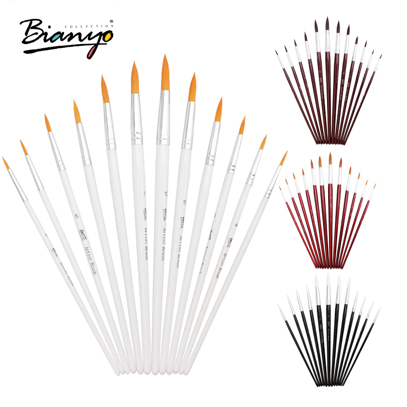 Online buy wholesale artist paint brushes from china for Wholesale craft paint brushes