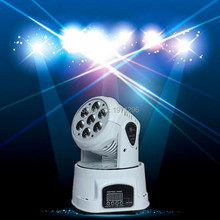 Buy 8 pieces/lot White mobile head led wash 7x12w rgbw moving head light/dj equipment powerful mini moving light for $540.00 in AliExpress store