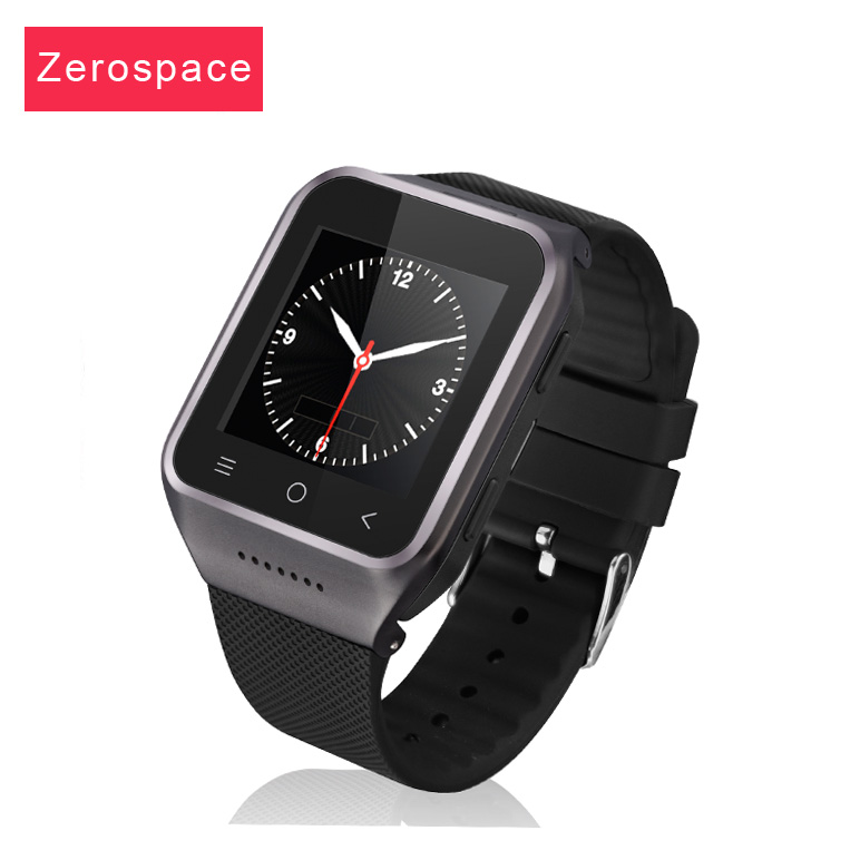 ZGPAX S8 Android 4 4 Smart Wrist Watch Cellphone 3G GPS WiFi MTK6572 Dual Core