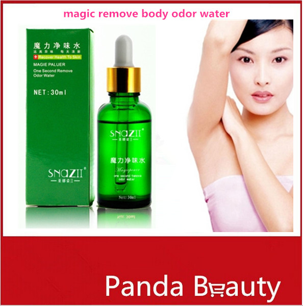 30ml/pc Magic Remove Body Odor Water Underarm Hircismus Cleaner Antiperspirant Deodorant Fragrance Perfumes Women Men(China (Mainland))