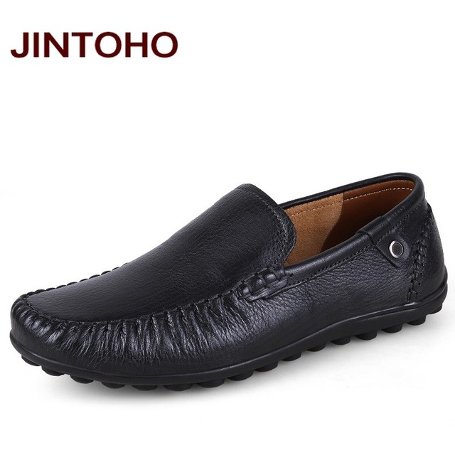 Jintoho большой размер 38 - 47 мужские из натуральной кожи формальная обувь люксовый ...