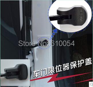 4pcs/set car door limiting stopper buckle water-proof rust-proof decoration cover KIA Rio K2 K3 K5 Forte - StevenSun's store