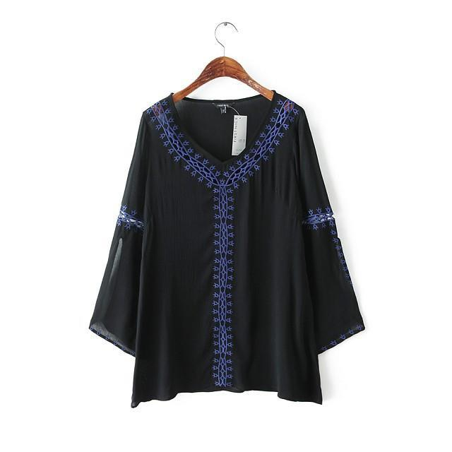 Ethnic Blouse Design 55
