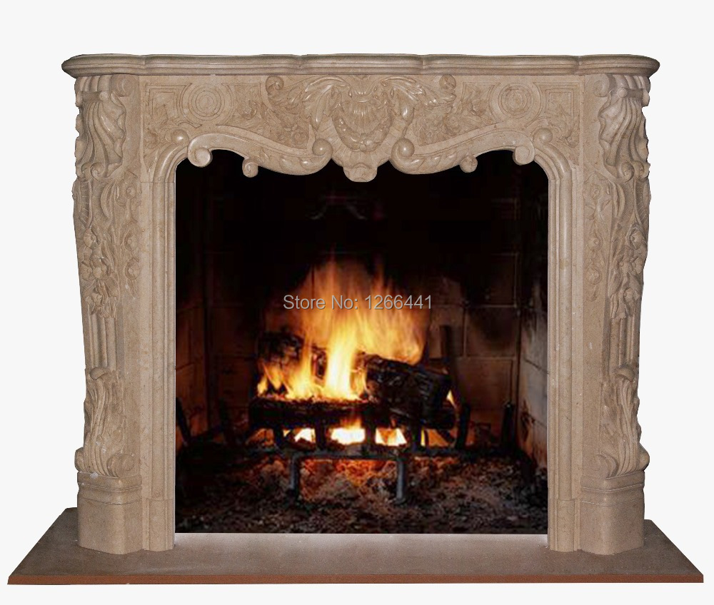 Compare Prices On Marble Fireplace Mantels Online Shopping Buy Low Price Marble Fireplace