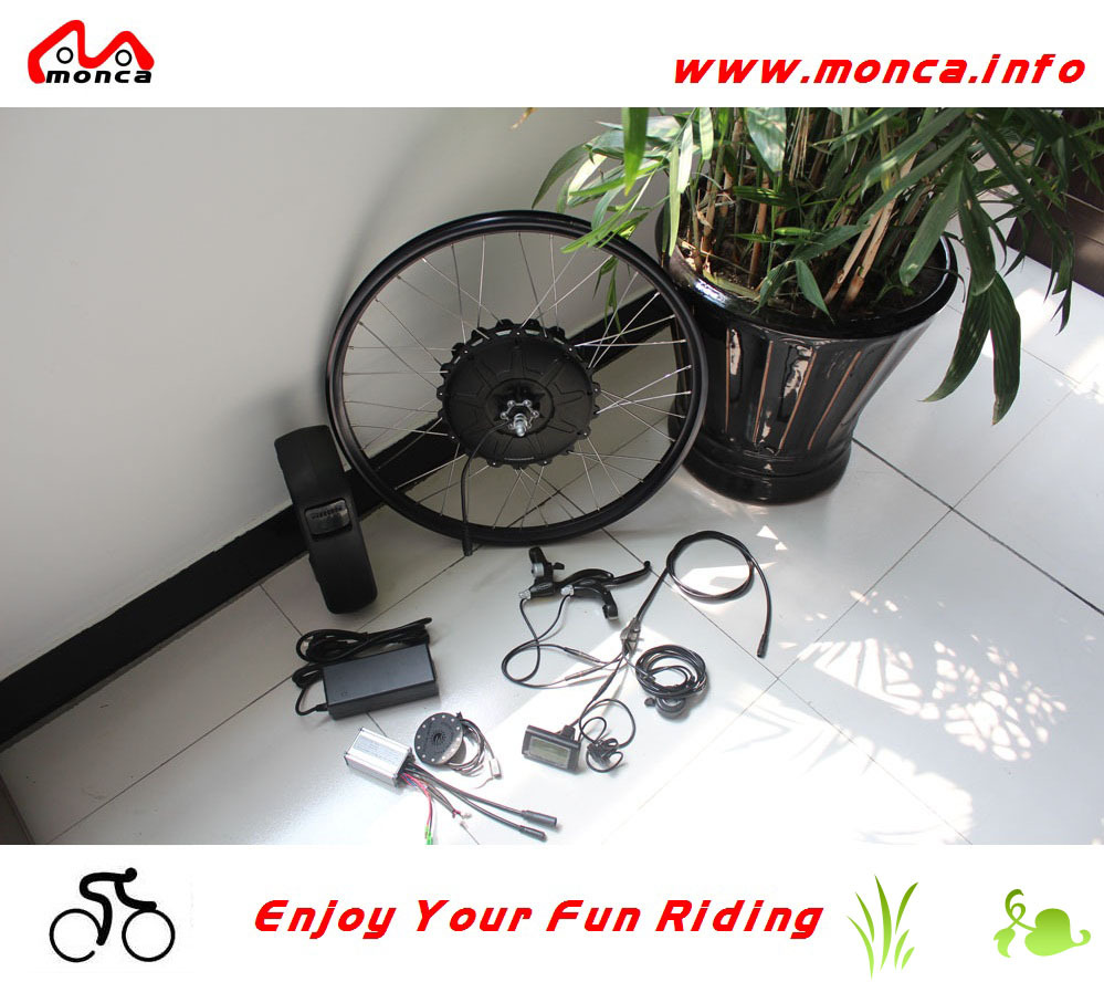 350W Brushless Motor and 36V Lithium Battery CE ,ROHS Approval Wholesale DIY Electric Bike Conversion Kits(China (Mainland))