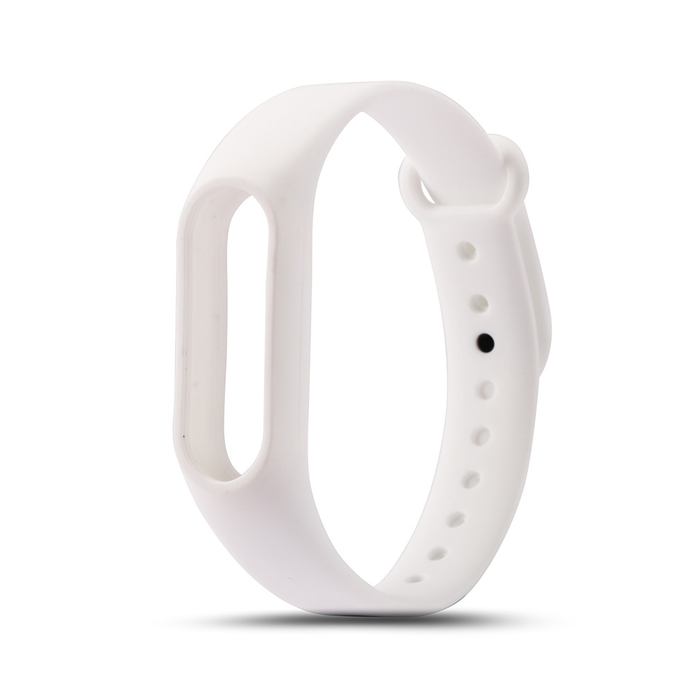 Colorful Silicone Bracelet For Xiaomi Mi Band 2 Bracelet Strap Mi Band Bracelet Accessories Replaceable Smart Band Belt