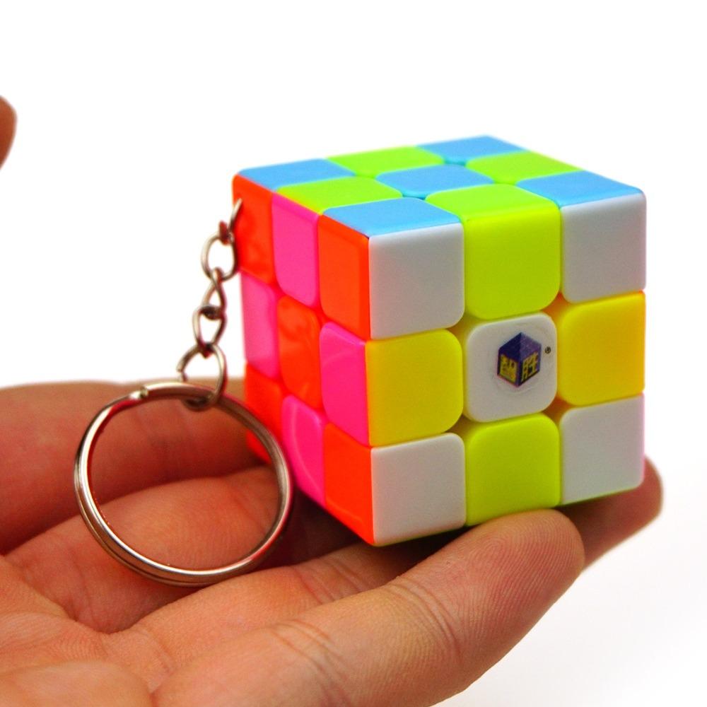 Yuxin Zhisheng 35mm Mini 3x3x3 Keychain Magic Cube Speed Puzzle Cubes Classic Toy Learning & Education Toys Cubo Magico Kub(China (Mainland))