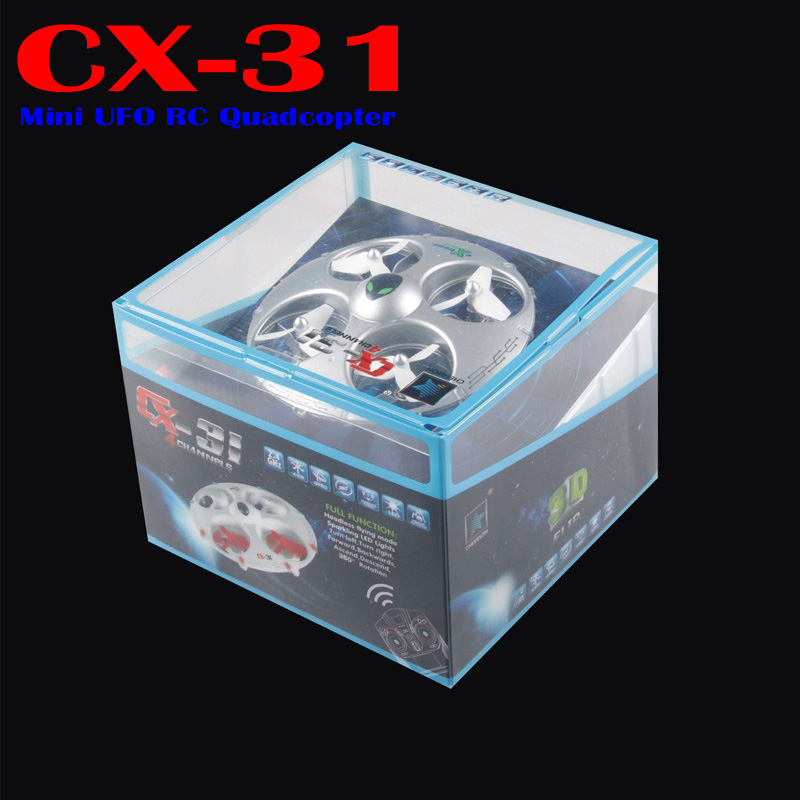 High Quality Cheerson CX-31 2.4G 4CH 6-Axis 3D Eversion Headless Mode RC Quadcopter Aircraft<br><br>Aliexpress