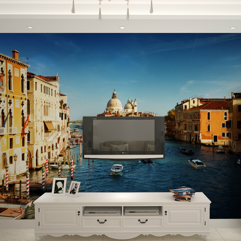 Buy free shipping nature large mural for Custom size wall mural