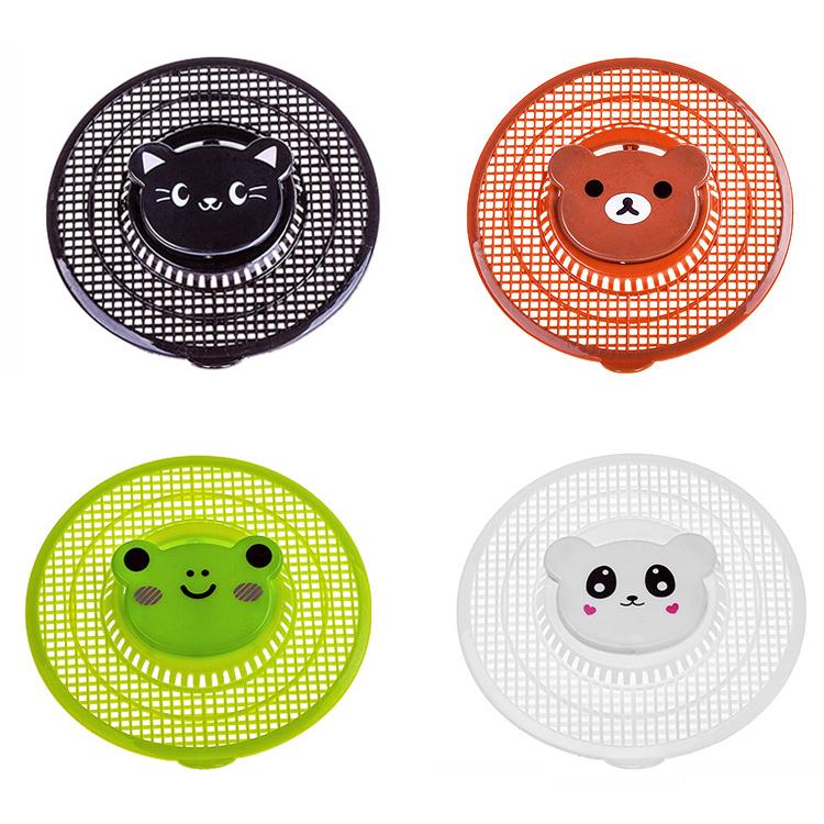 Online Kaufen Großhandel Küche Waschbecken Sieb Aus China: Schönen Cartoon Tier Versinken Bodenablauf Runde