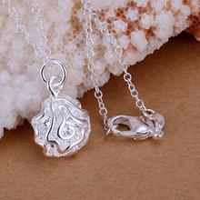 Wholesale 925 silver pendant necklace silver jewelry Necklace 925 necklace 925 sterling silver charm necklace P168