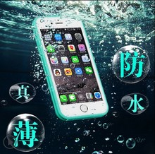 Waterproof transparent Case for iPhone 5 5S 6 6s plus 6plus Phone Bag Cover coque i phone5 phone6 phone6s plus capa para 6plus(China (Mainland))