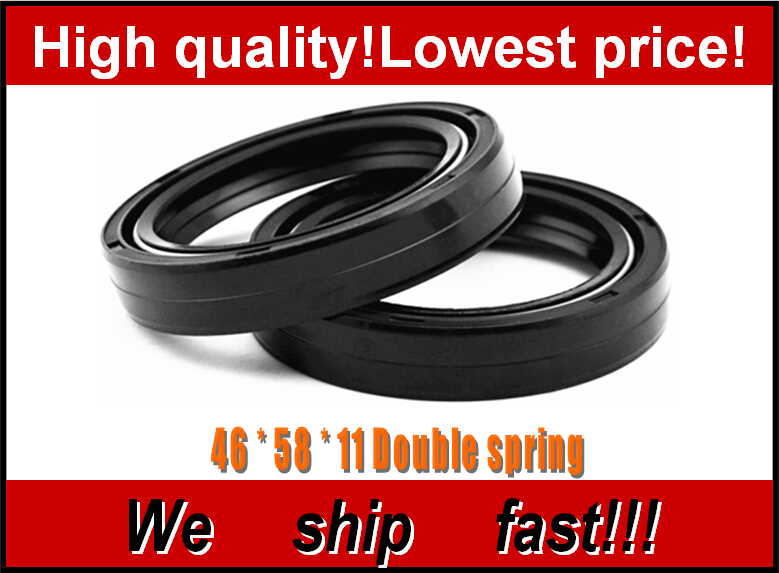 Motorcycle Front Fork Damper oil seal for KAWASAKI KX125 KX250 ZX-9R ZX9R 1998-2001 Shock absorber oil seal(China (Mainland))