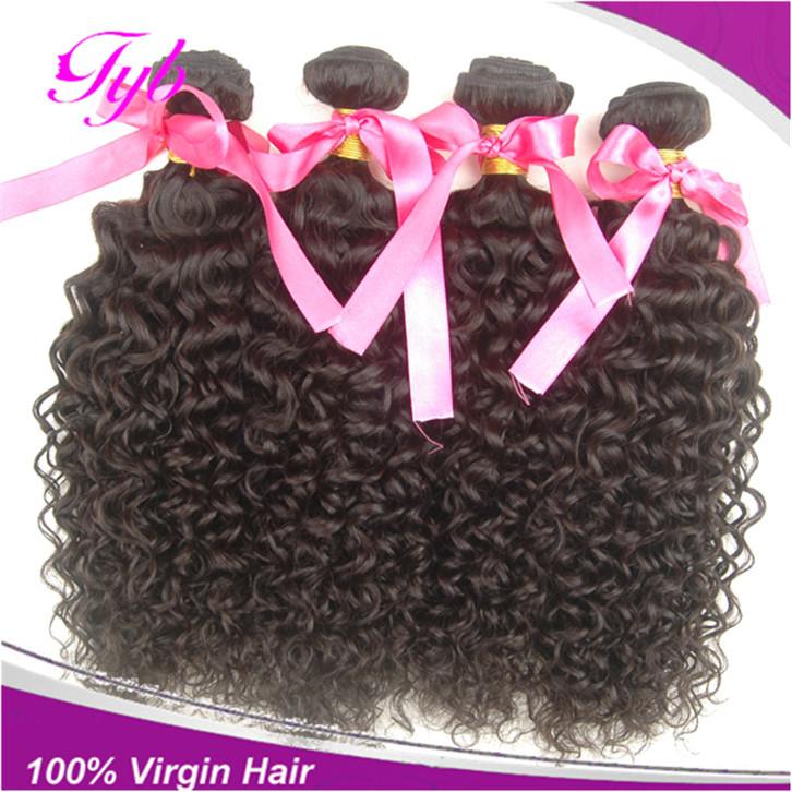 King Hair Virgin Malaysian Hair Water WaveUnprocessed Malaysian Deep Curly Virgin Hair, KBL Hair Curly Weave Free Ship(China (Mainland))