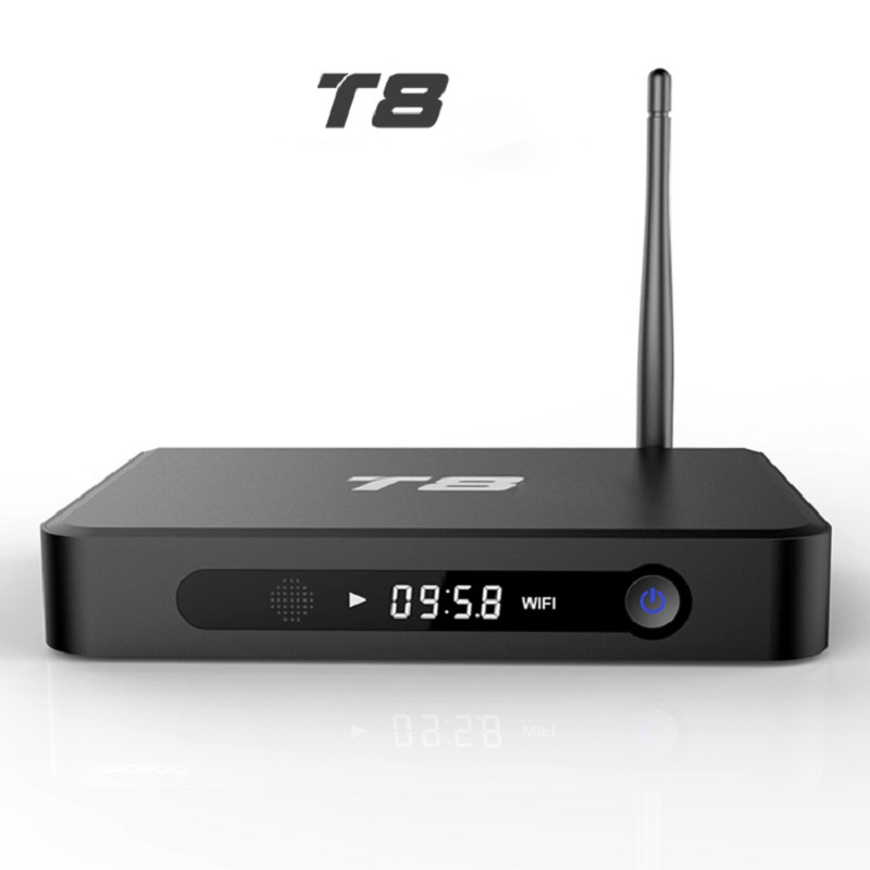 T8 Box TV Android4.4 Quad Core OS Amlogic Cheapest Digital Set Top Box Support 4k For IPTV Goolge Smart TV Laptop Iphone Samsung(China (Mainland))