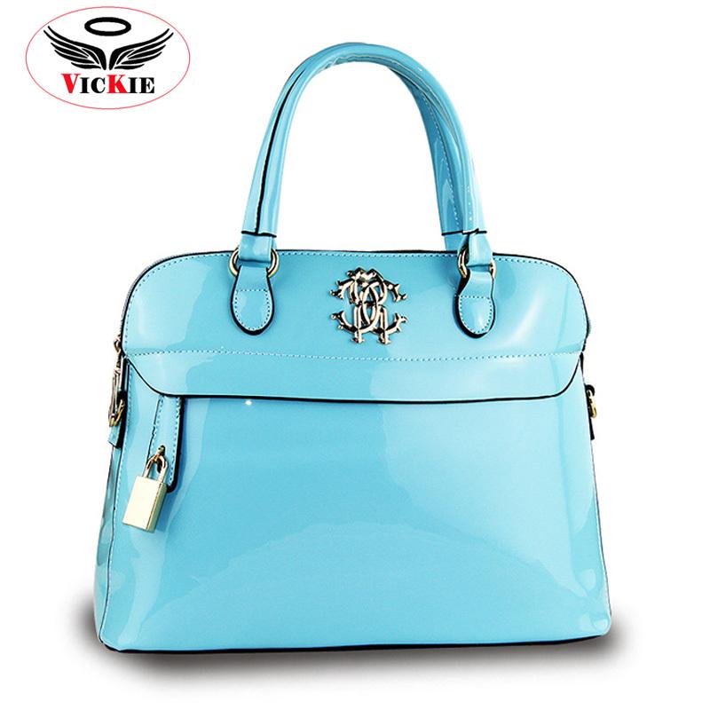 Summer Women's Shoulder Bags Patent Leather Ladies Totes Women Messenger Bag Wholesale Shell Handbags OL Bag Bolsa Mujer Sac T58(China (Mainland))