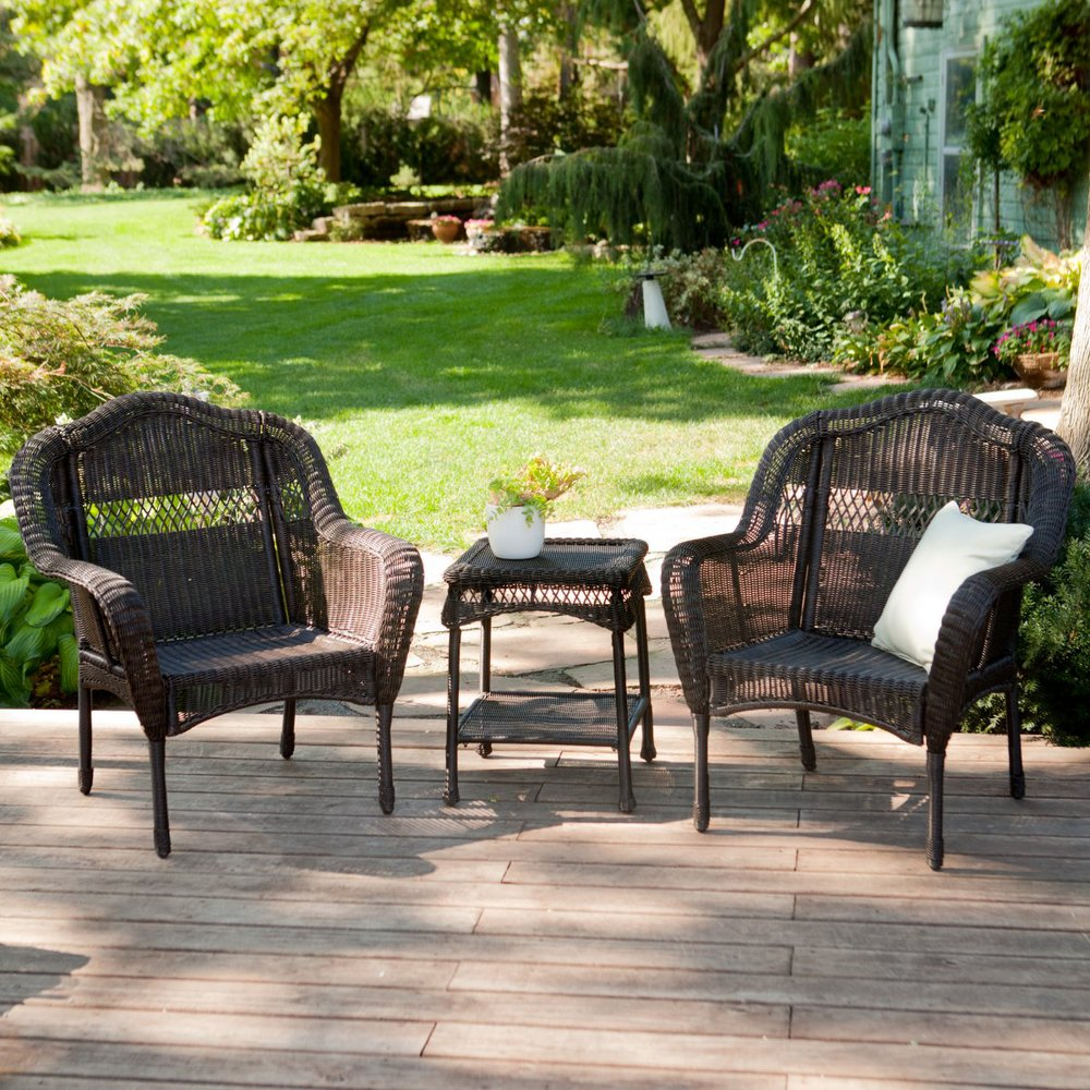 Buy Outdoor Patio Furniture Resin Wicker Conversation Set From Reliable