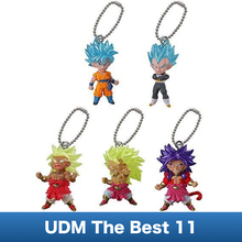 5pcs Dragon Ball SUPER Figure Toys – Bandai Gashapon UDM The Best 11 ~Son Goku God,Vegeta God,Broly~Ultimate Deformed Mascot