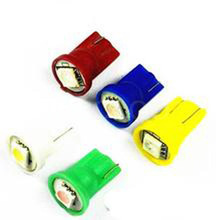 Wholesale white T10 194 168 192 W5W 5050 1 smd led 1smd 1led super bright Auto led car led lighting/t10 wedge led auto lamp(China (Mainland))