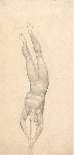 Cópias Da Arte Da lona Giclee Esticada Emoldurado Mundialmente Famoso Artista da Pintura A Óleo William Blake Trombeta Do Anjo(China (Mainland))