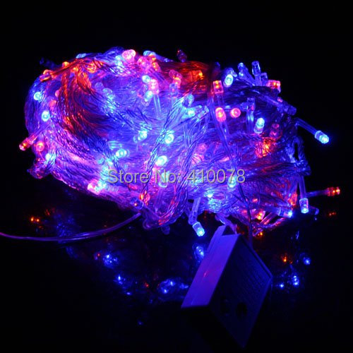 Free ship 30M 200 LED Light String lighting Fairy Party Wedding String Light Garland Christmas ...