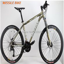 Hot selling MISSILE M390 new style 27speed 26er mtb mountain alloy bike gray color  for sale(China (Mainland))