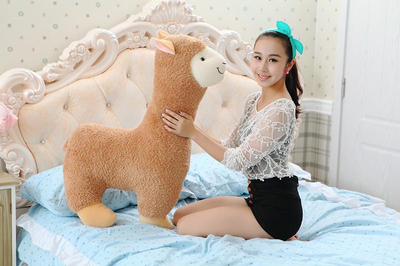 lovely alpaca plush toy,100cm alpaca sheep hugging pillow ,creative birthday gift d677<br><br>Aliexpress