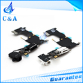 One Piece Free Shipping Brand New Replacement Parts Charger Port Dock Connector Flex Cable for iphone