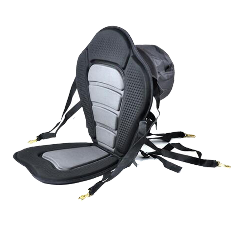 Adjustable Canoe kayak Backrest Seat Inflatable Boat Seat With Storage Backpack Cushion Rowing Boat Fishing Boat Accessories(China (Mainland))