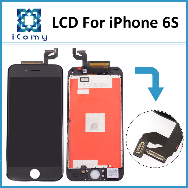 3PCS/LOT Original LCD Screen For iPhone 6S LCD Display Digitizer Touch Glass Assembly Replacement White/Black DHL Free Shipping(China (Mainland))