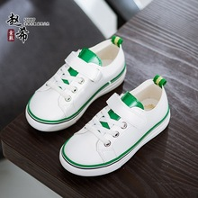 Kids Flat Breathable font b Shoes b font Cavans Zapatillas Blancas Summer Autumn Girls Autumn font