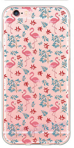 Etui iPhone 5/5S/6/6S/6Plus/6SPlus Flamingo różne wzory