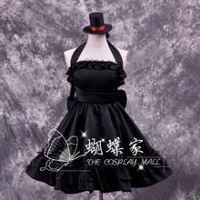 Halloween K-ON Akiyama Mio lolita Cosplay Costume Custom Made Any Size