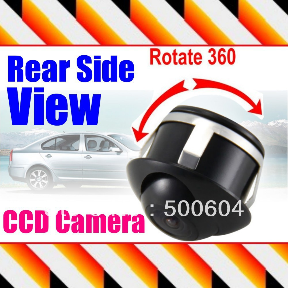 360 degree 170 degree wide angle Car Front /Side / Rear View Reverse CCD Camera Auto Reverse back up Universal Fit For all Model(Hong Kong)