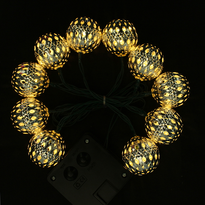 3M 10 LEDs Solar Power Fairy String Light Holiday Lighting Xmas Holiday Party Outdoor Wedding ...