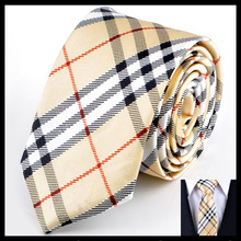 Plaid New Style Men ties For Business Gifts Classic men's Neckties Chequers Promotional gifts Narrow Tie 5cm Free shipping