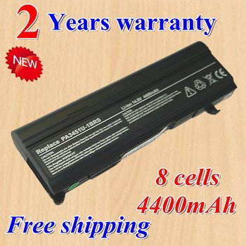 Hot + new 8 Cell Laptop battery for Toshiba Satellite A80 A85 A100 A105 A110 A135 M45 black  +gift