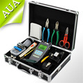 Fiber Optic FTTH Tool Kit with AUA 30S Fiber Cleaver and Optical Power Meter 10Mw metal